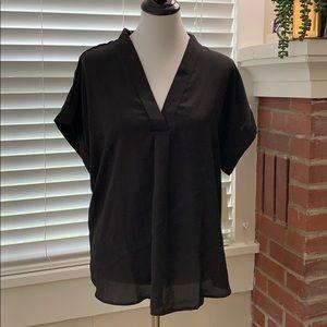 NWT - V neck blouse. Short sleeve
